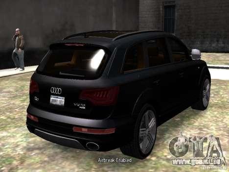 Audi Q7 V12 TDI Quattro Final pour GTA 4 est un droit