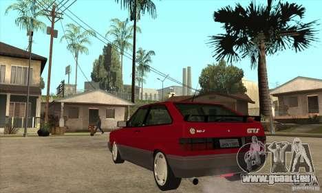 Volkswagen Gol GTS 1994 für GTA San Andreas zurück linke Ansicht