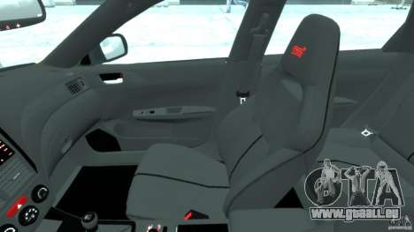 Subaru Impreza WRX STi 2011 Subaru World Rally für GTA 4 Rückansicht