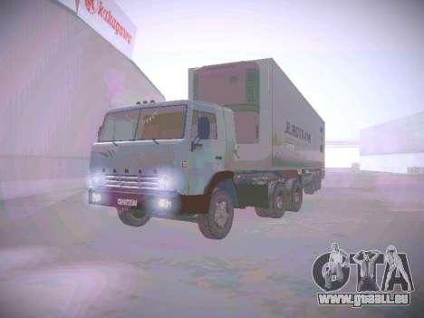 KAMAZ 5410 pour GTA San Andreas laissé vue