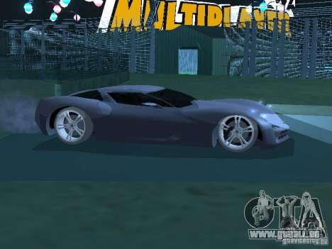 Chevrolet Corvette Stingray für GTA San Andreas linke Ansicht