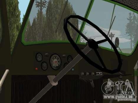ZIL 164 für GTA San Andreas Rückansicht
