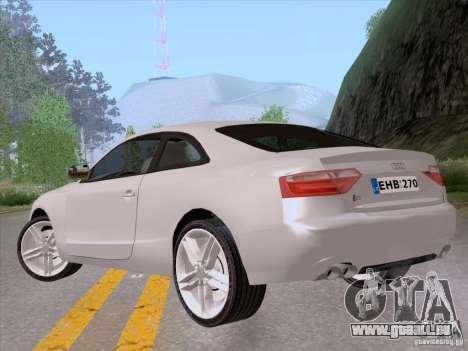 Audi S5 für GTA San Andreas linke Ansicht