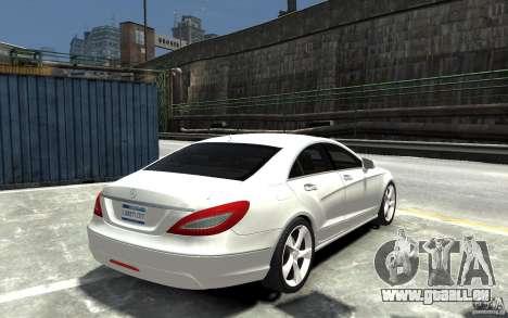 Mercedes-Benz CLS 350 pour GTA 4 est un droit