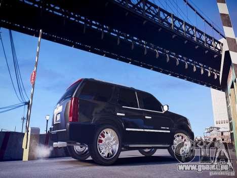 Cadillac Escalade pour GTA 4 est une gauche