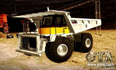 Caterpillar 777D für GTA San Andreas