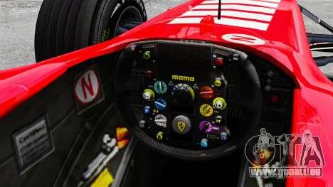 Ferrari F2005 pour GTA 4 est une vue de l'intérieur
