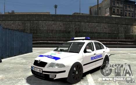 Skoda Octavia 2005 Hungarian Police für GTA 4