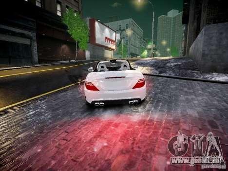 Mercedes SLK 2012 pour GTA 4 Vue arrière de la gauche