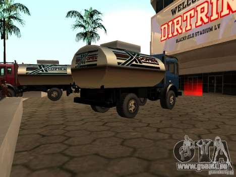 Düne-Tank für GTA San Andreas linke Ansicht