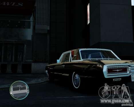 Ford ThunderBird 1964 pour GTA 4 est un droit