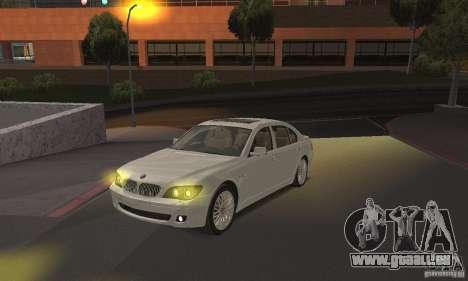 Phares jaunes pour GTA San Andreas deuxième écran