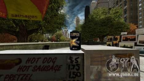 Rockstar Energydrink» für GTA 4 fünften Screenshot