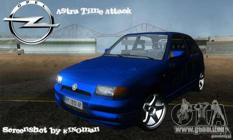 Opel Astra Time Attack pour GTA San Andreas