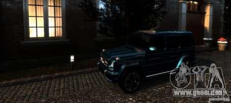 Mercedes-Benz G65 AMG [W463] 2012 für GTA 4 Innen