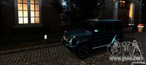 Mercedes-Benz G65 AMG [W463] 2012 pour GTA 4 Salon
