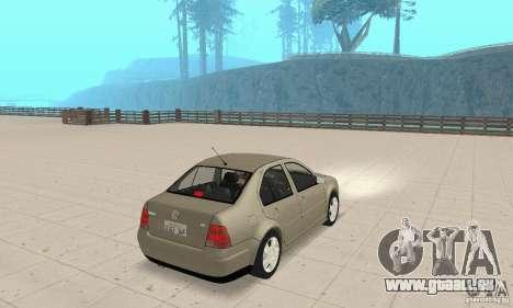 Volkswagen Bora Stock für GTA San Andreas linke Ansicht