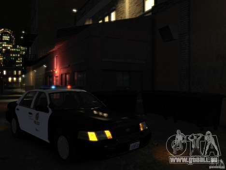 Ford Crown Victoria LAPD [ELS] für GTA 4 rechte Ansicht