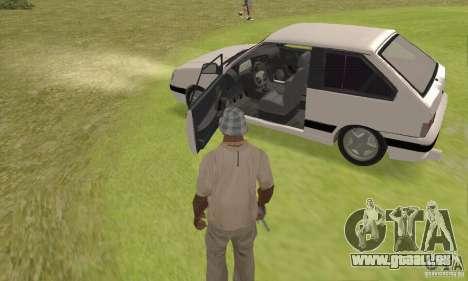 VAZ 2113 LSP Tuning pour GTA San Andreas vue arrière