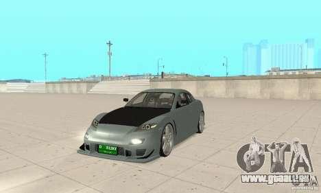 Mazda RX-8 Tuning pour GTA San Andreas