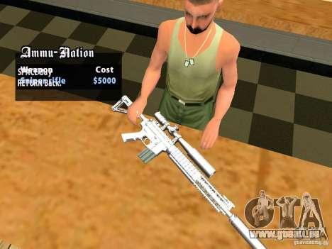 TeK Weapon Pack für GTA San Andreas zwölften Screenshot