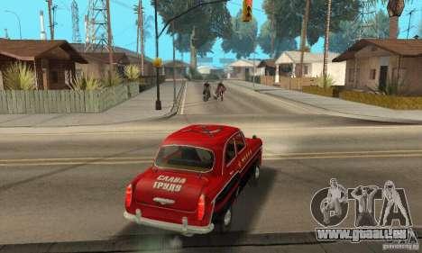 Moskvitch 407 1958 pour GTA San Andreas vue de côté