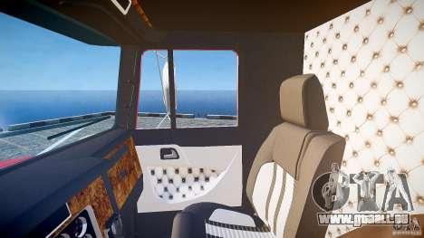 Kenworth W900 v1.0 pour GTA 4 vue de dessus