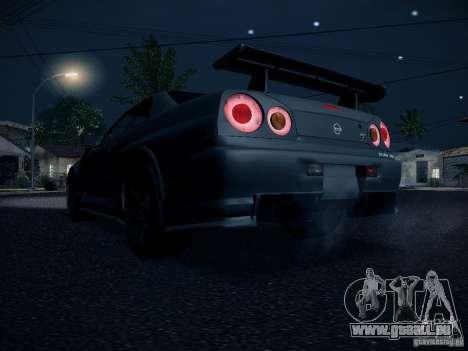 Nissan Skyline Z-Tune pour GTA San Andreas vue de droite