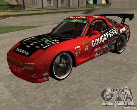 Mazda RX-7 drift king pour GTA San Andreas