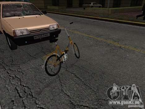 Romet Wigry 3 für GTA San Andreas Rückansicht