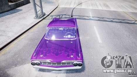 Chevrolet Impala 1959 für GTA 4 Räder