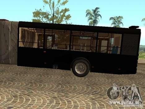 Remorque pour Liaz 6213.70 pour GTA San Andreas sur la vue arrière gauche