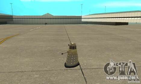 Dalek Doctor Who pour GTA San Andreas