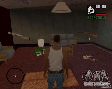 Haus Jäger V 1.0 für GTA San Andreas fünften Screenshot