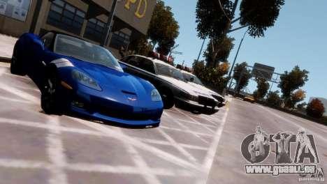 Chevrolet Corvette Grand Sport 2010 pour GTA 4