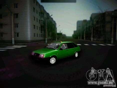 VAZ 2109 kurz-Kryloe Taxi für GTA San Andreas linke Ansicht