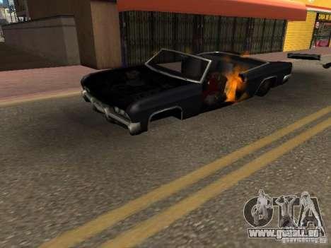 Wrecked car fix für GTA San Andreas zweiten Screenshot