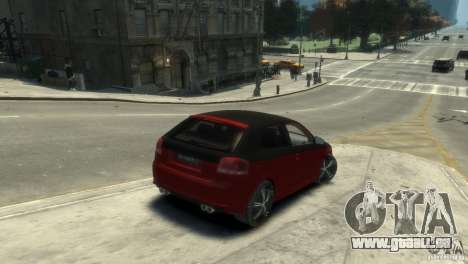 Audi BS3 O.CT Tuning für GTA 4 hinten links Ansicht