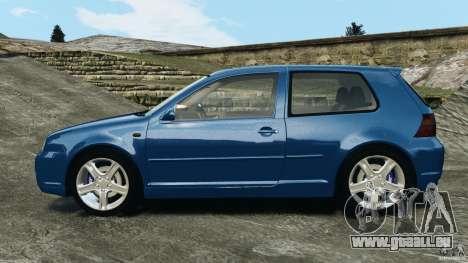 Volkswagen Golf 4 R32 2001 v1.0 für GTA 4 linke Ansicht