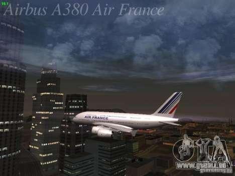 Airbus A380-800 Air France pour GTA San Andreas