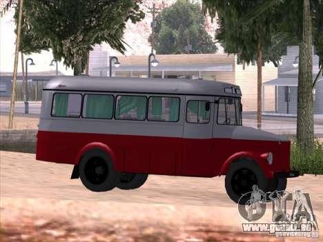 KAVZ 651A für GTA San Andreas Rückansicht