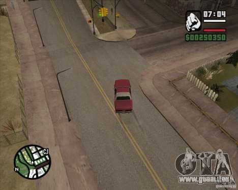 Kamera wie in GTA Chinatown Wars für GTA San Andreas sechsten Screenshot