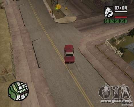 Caméra comme dans GTA Chinatown Wars pour GTA San Andreas sixième écran