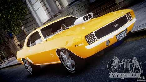Chevrolet Camaro pour GTA 4