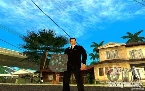 Minerai de diamant provenant du jeu Minecraft pour GTA San Andreas cinquième écran