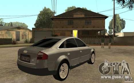 Audi A6 3.0i 1999 pour GTA San Andreas vue de droite