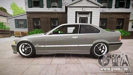 BMW E36 328i v2.0 für GTA 4 linke Ansicht