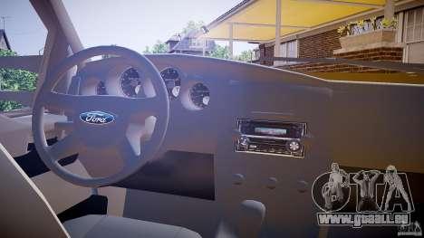 Ford F350 Stock pour GTA 4 Vue arrière