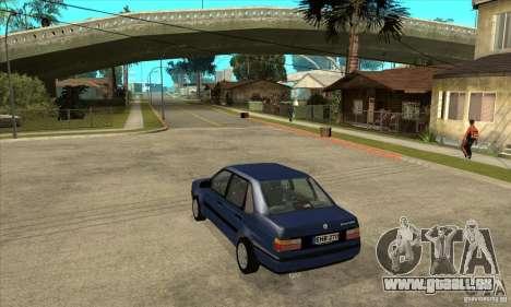 Volkswagen Passat B3 Stock pour GTA San Andreas sur la vue arrière gauche