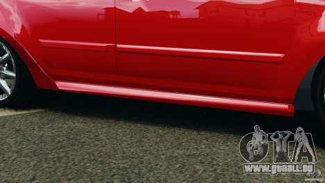 Chevrolet Agile für GTA 4 Unteransicht